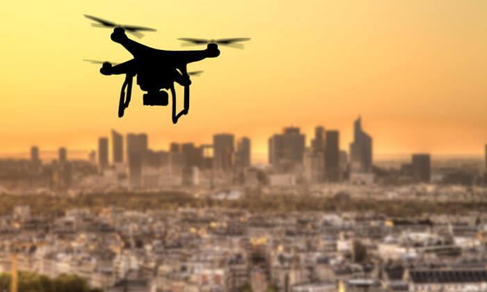 Dronët sigurinë RCS