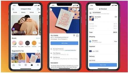 Fcaebook Shops Instagram